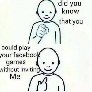 Playing Games in FB