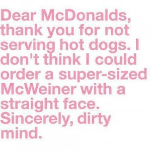 Super Sized McWeiner