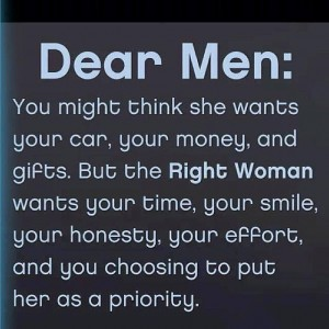 The Right Woman!
