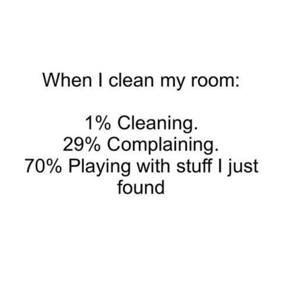 Quotes About Cleaning When I Clean My Room  Funny Pictures Quotes Memes Funny Images