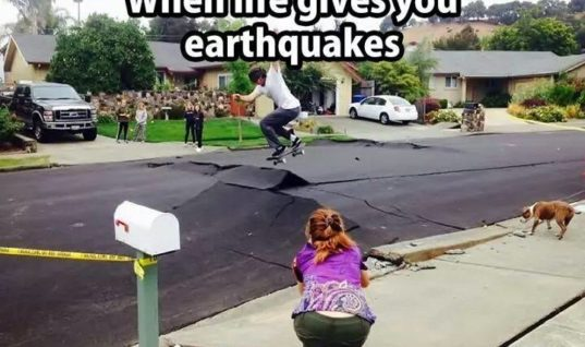 When Life gives you Earthquakes