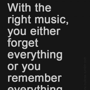 With the Right Music