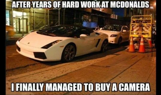 Years of Hard work at McDonalds