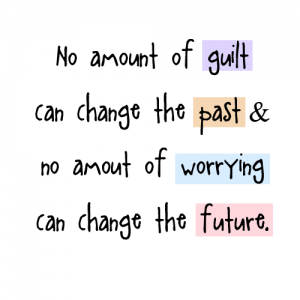 You can't change Past or Future!