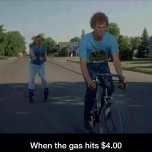 when Gas price are high