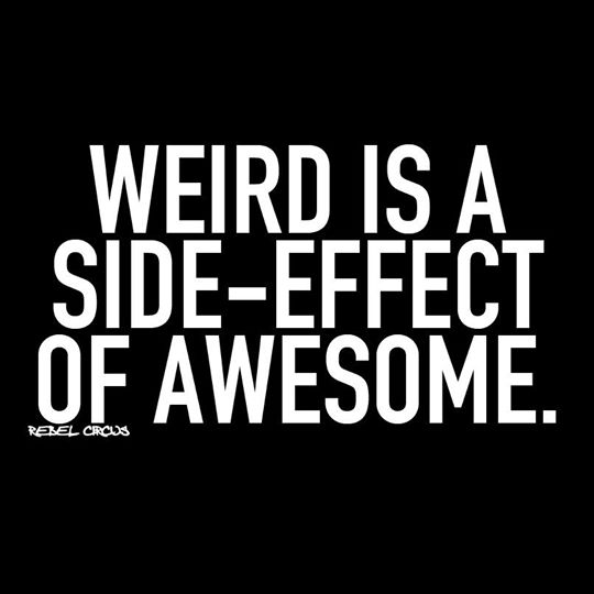 Awesome Weird