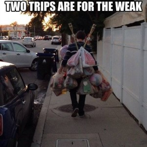 Better than making 2 trips