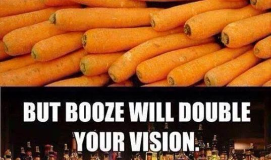 Carrots Or Booze