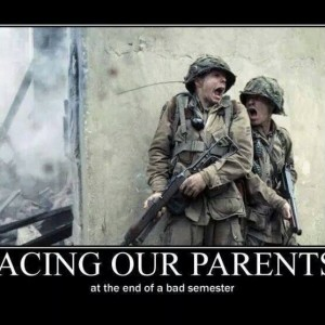 Facing our parents