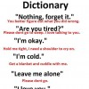Female Dictionary
