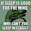If sleep is good