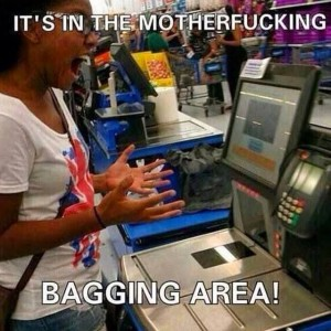 It's in the Bagging area