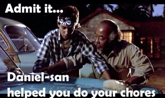 Karate Kid Inspiration