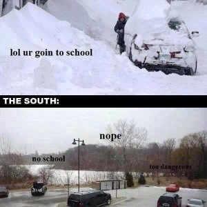 North Vs South in Winter