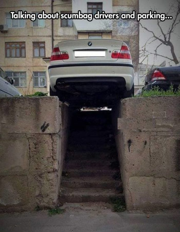 Parking Real Bad