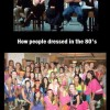 People in the 80's