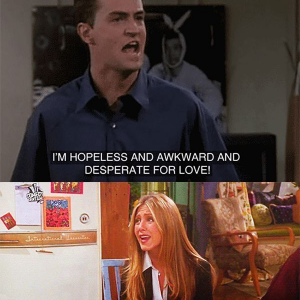 Rachel And Chandler