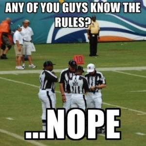 Referee Talking