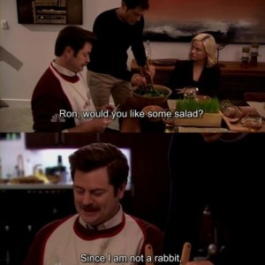 Ron And Salad