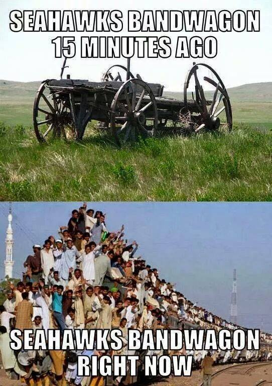 seahawks bandwagon funny pictures quotes memes funny