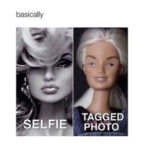 Selfie Vs Tagged Pic
