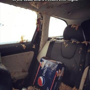 Soda And Car