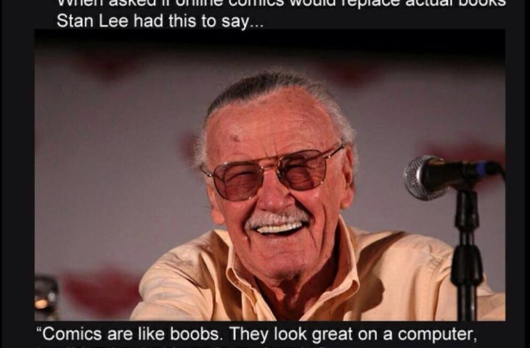 Stan Lee's Remarks
