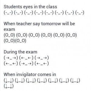 Students be like..
