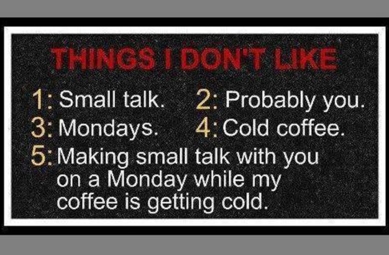 Things I don't Like