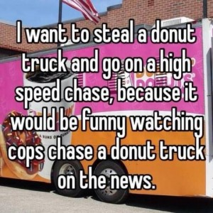 Want to steal a donut truck