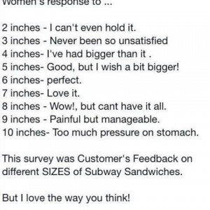 Woman's Response to..