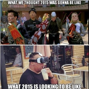 2015 would be like