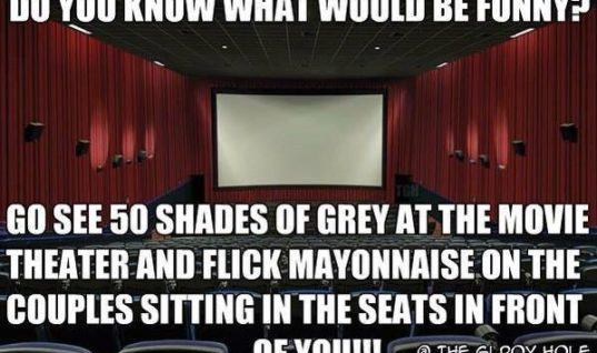 50 Shades at a Theatre