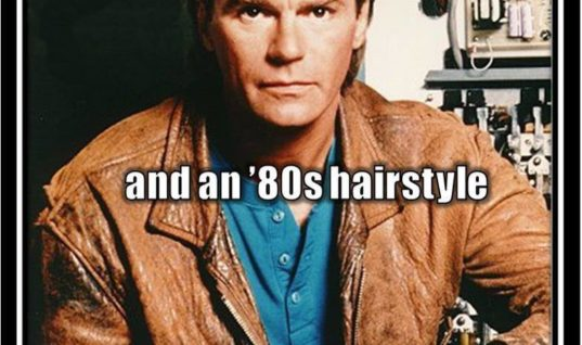 80's Hairstyle