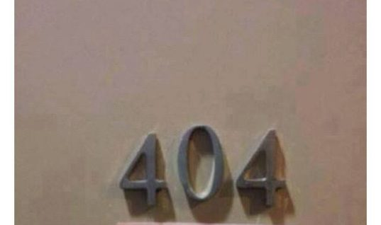 Apartment 404 not found