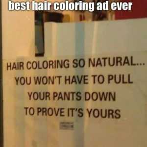 Best Hair Coloring Ad