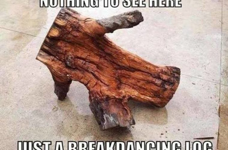Break Dancing Log