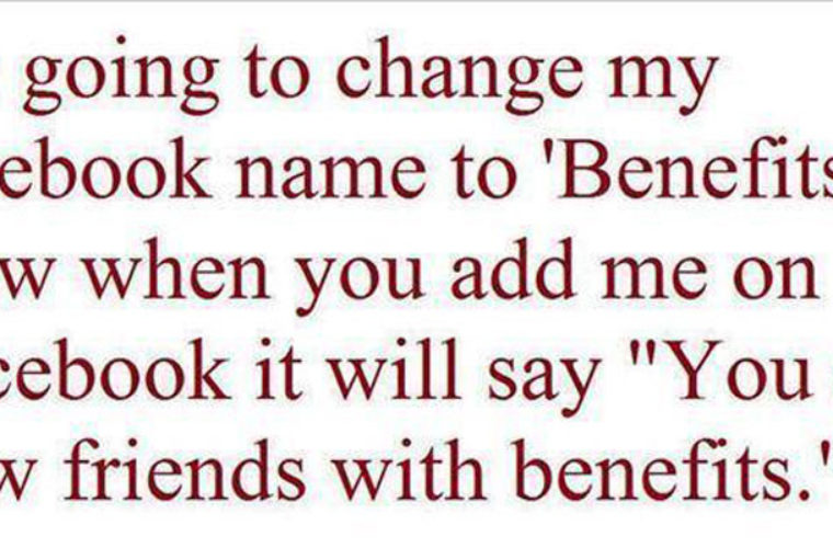 Change Name to Benefits
