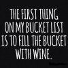 First thing on my bucket list