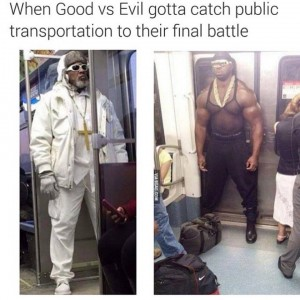 Good Vs Evil On Public