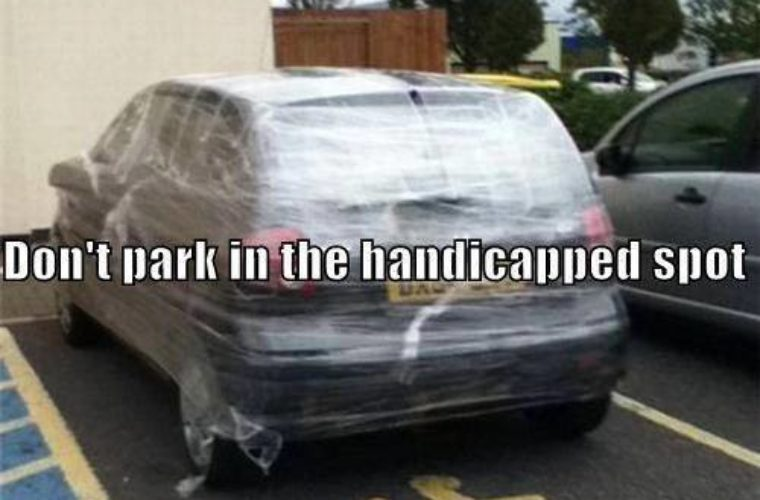 Handicapped Spot Parking