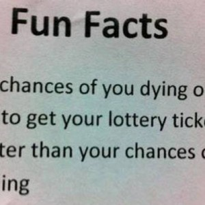 Lottery Win Fun Fact
