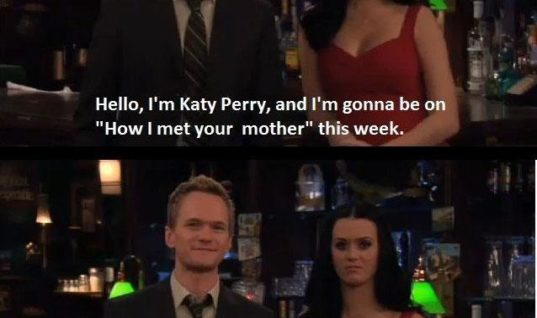 Neil Patrick And Katy Perry