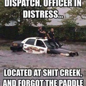 Officer in Distress