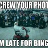 Screw your group photo
