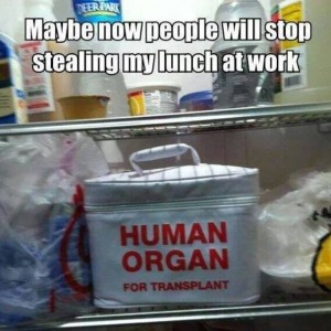 Stop Stealing Lunch