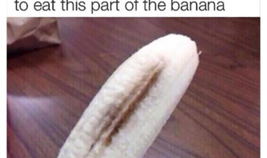 The Black Ripe Banana