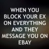 When You block your Ex