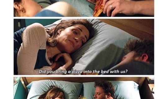 pizza into the bed - funny pictures