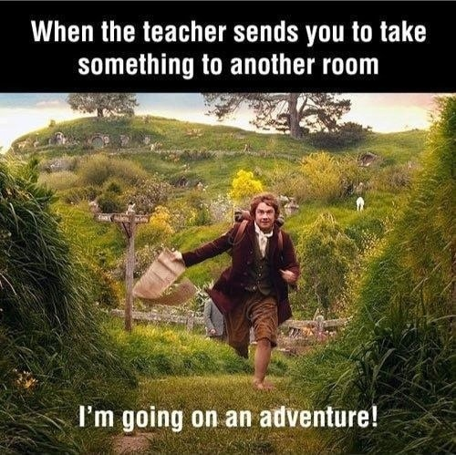 Going On An Adventure